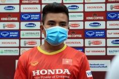 Cầu thủ dân tộc Tà Ôi hạnh phúc khi được HLV Park trao cơ hội