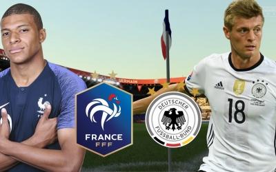 Đội hình dự kiến Pháp vs Đức: Siêu sao đại chiến