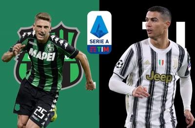 Nhận định Sassuolo vs Juventus: Nối tiếp thất vọng?