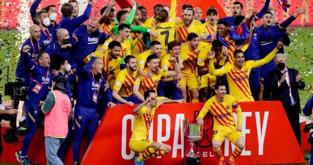 Barca vô địch Cúp Nhà vua Tây Ban Nha