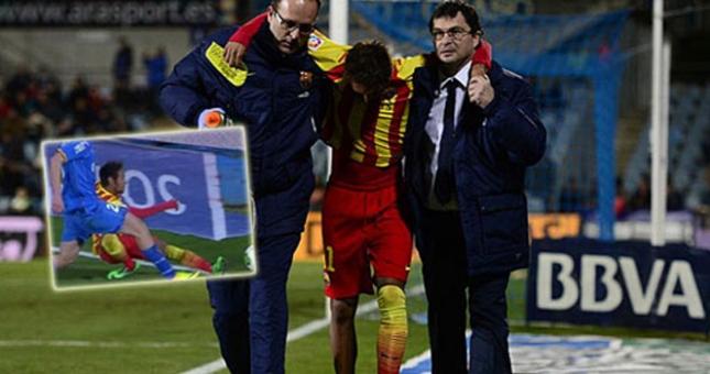 Messi lên tiếng về chấn thương của Neymar